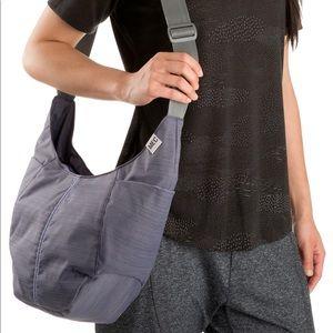 MEC Purse Bag Ella Tote Crossbody Purple